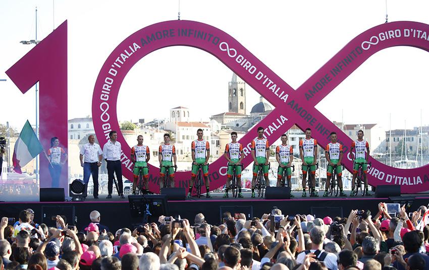 Pirazzi y Ruffoni, del Bardiani, dan positivo antes del arranque del Giro