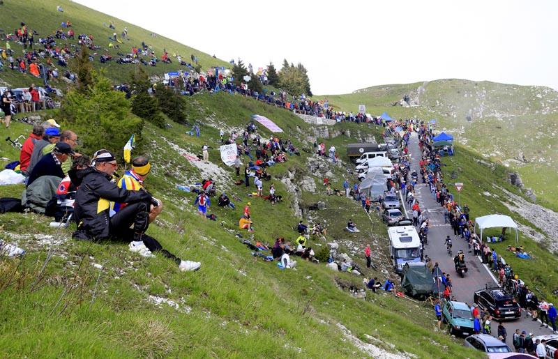 La montaña del Giro de Italia del centenario