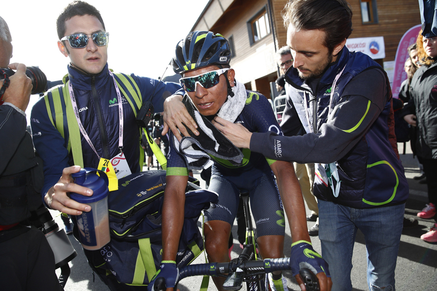 "Quintana: ""Tengo que ponerme a la altura de mis rivales todavía"""