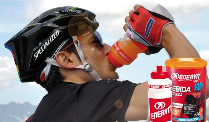 Enervit Sport, los suplementos de Miguel Induráin