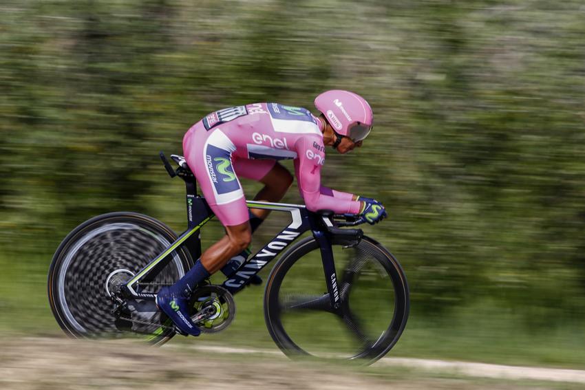 """Quintana: """"Confío en mi equipo, mi buena condición y toda la montaña que queda"""""""