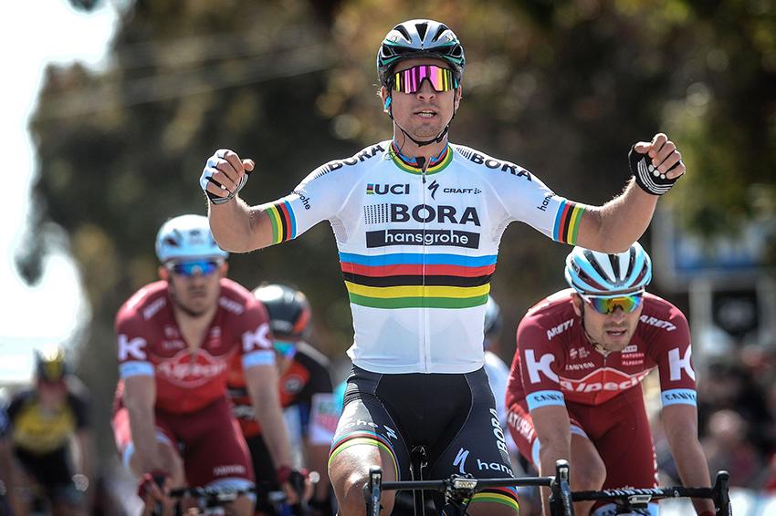 Breves: Sagan gana la 3º etapa de California, Santesteban y Merino brillan en la Durango-Durango...