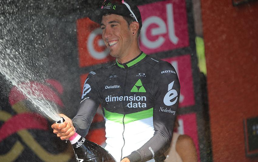 """Fraile: """"Desde que era un niño soñaba con una etapa en el Giro"""""""
