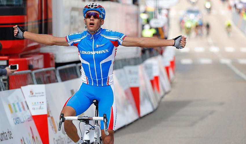 Evtushenko estrena con su victoria la Vuelta a Castilla y León