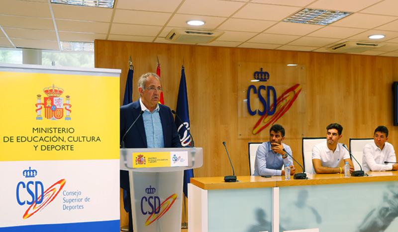 Alfonso Cabello, el campeón paralímpico, al Campeonato de España absoluto