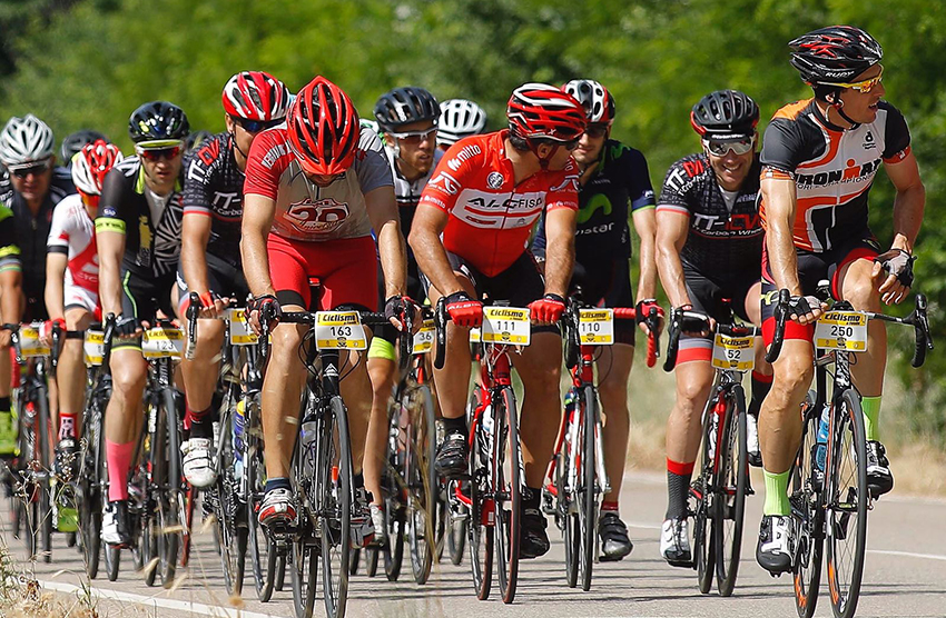 Disponibles los tiempos del tramo cronometrado de la Ciclismo a Fondo Challenge