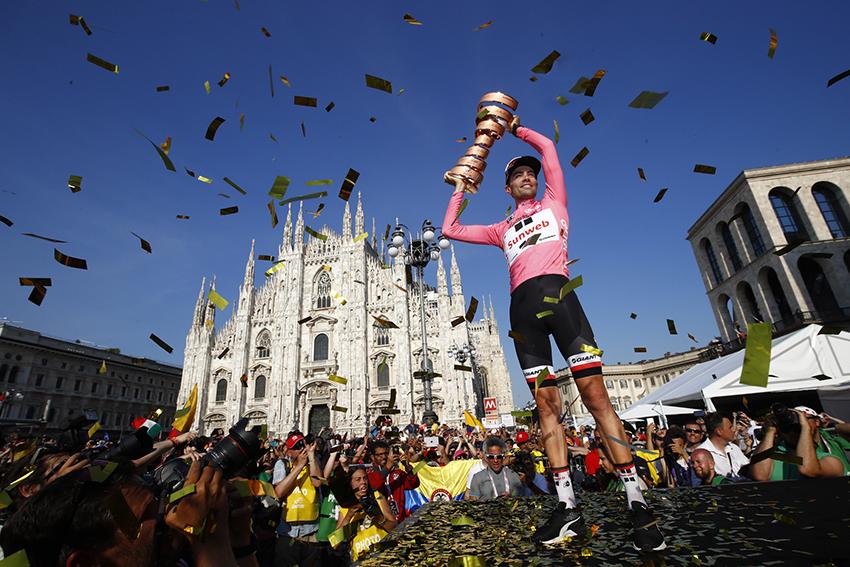 Tom Dumoulin gana el Giro de Italia
