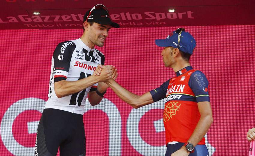 Dumoulin y Nibali apuntan a la Vuelta a España