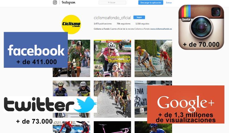 Ya sois más de medio millón de seguidores en Redes Sociales