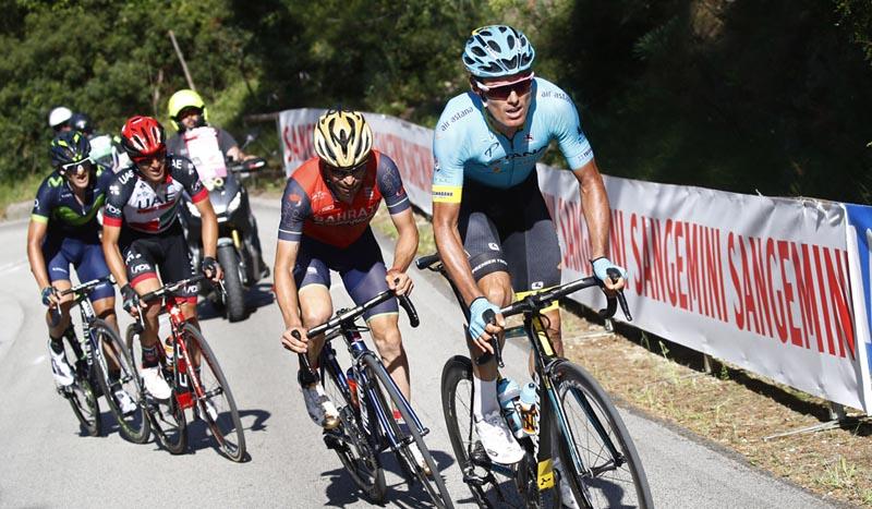 Entrevista a Luis León Sánchez tras un Giro muy batallador