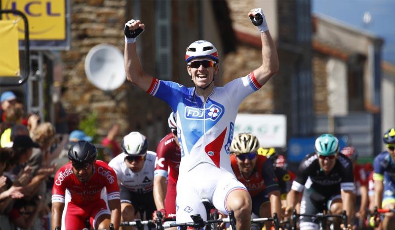 Criterium Dauphiné segunda etapa, Demare incontestable