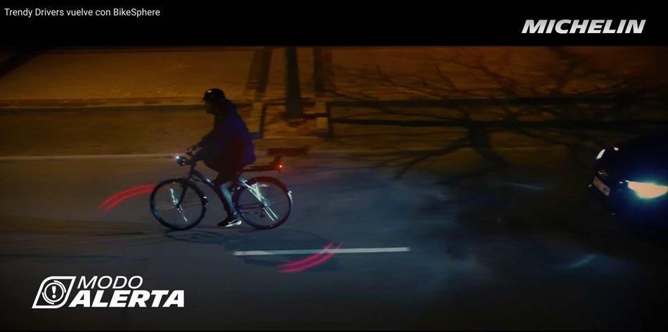 Seguridad Vial: BikeSphere de MichelinBike