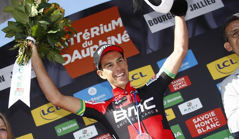 Criterium Dauphiné, 4ª etapa, De Gent se salva, Porte sorprende y Valverde se luce