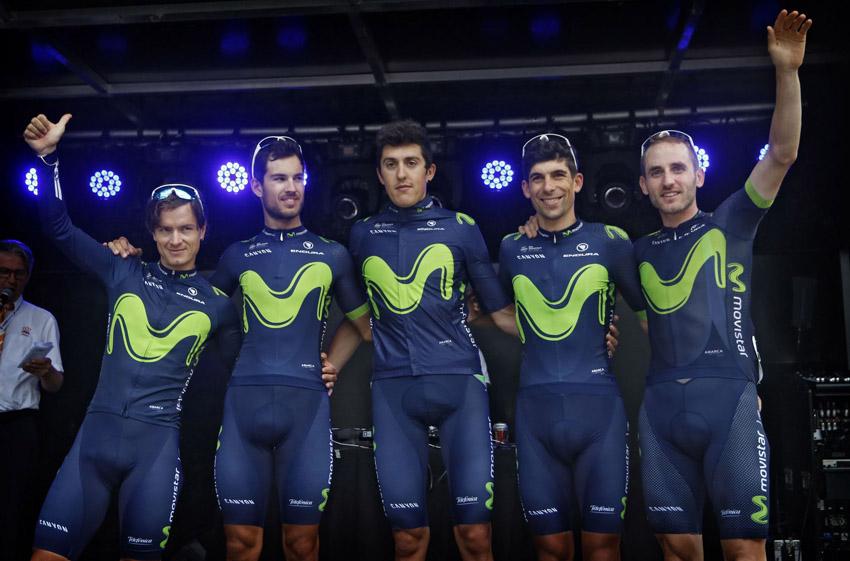 Movistar Team anuncia su equipo para el Tour de Suiza