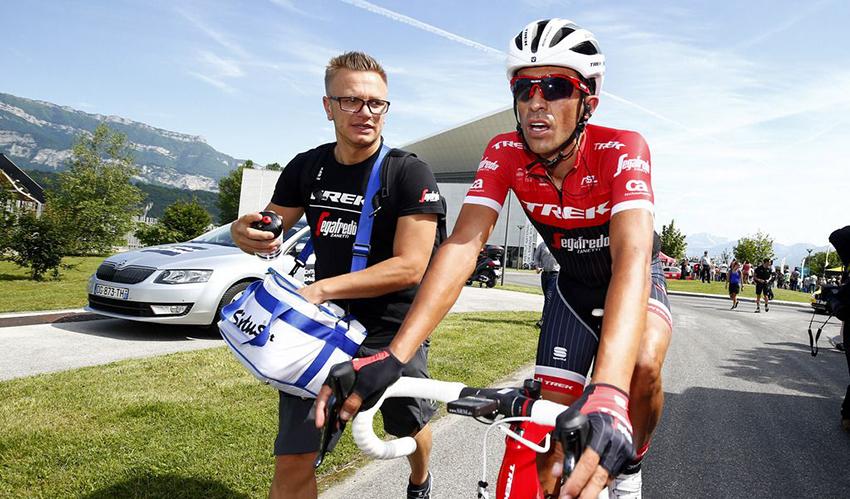 """Contador: """"aún estoy bajo de forma para asumir esfuerzos explosivos"""""""