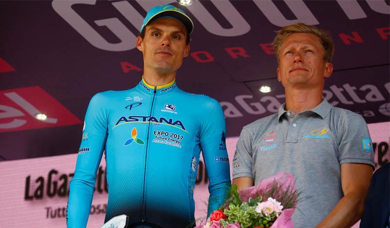 Luis Leon Sánchez renueva con Astana Proteam
