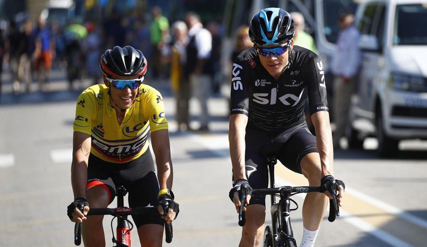 """Froome: """"Porte es el favorito a ganar el Tour"""""""