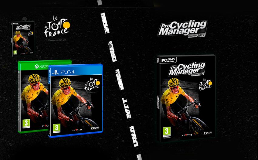 Los videojuegos oficiales del Tour de Francia 2017, a la venta el 15 de junio