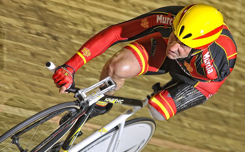 Atropellan al ciclista paralímpico Juanjo Méndez