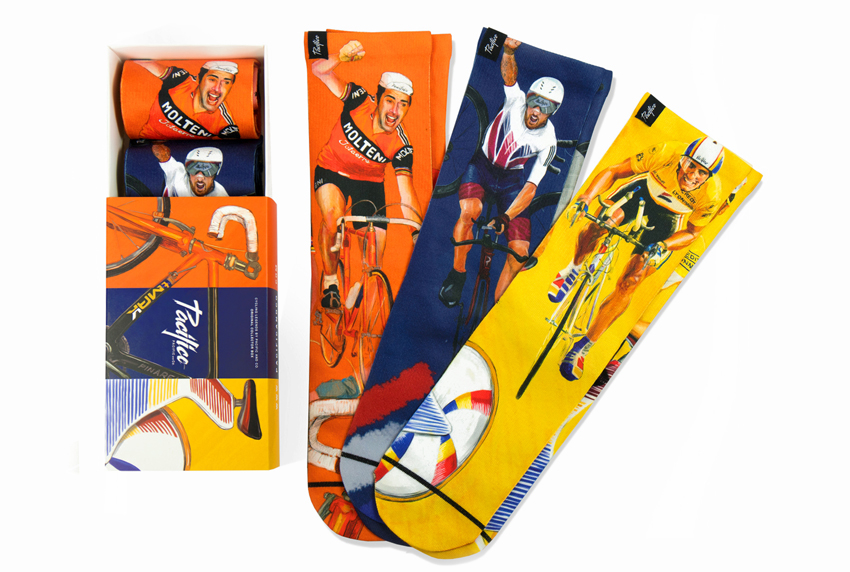 Cycling Legends, calcetines para los amantes del ciclismo