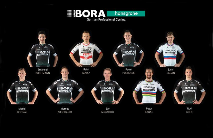 Bora anuncia su equipo para el Tour con Sagan y Majka como líderes