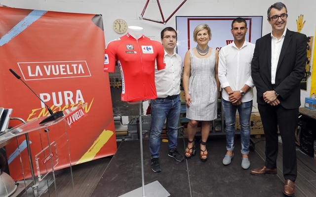 Presentados los nuevos maillots de la Vuelta 2017
