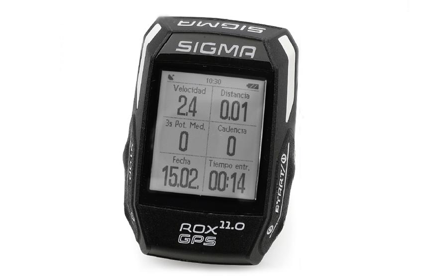 Ciclocomputador Sigma ROX GPS 11.0 (Prueba)