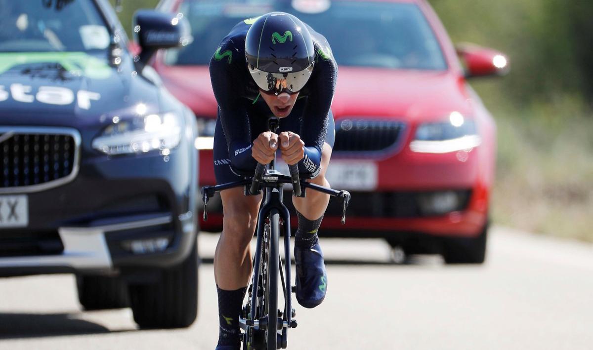 Castroviejo, campeón de España de crono por tercera vez