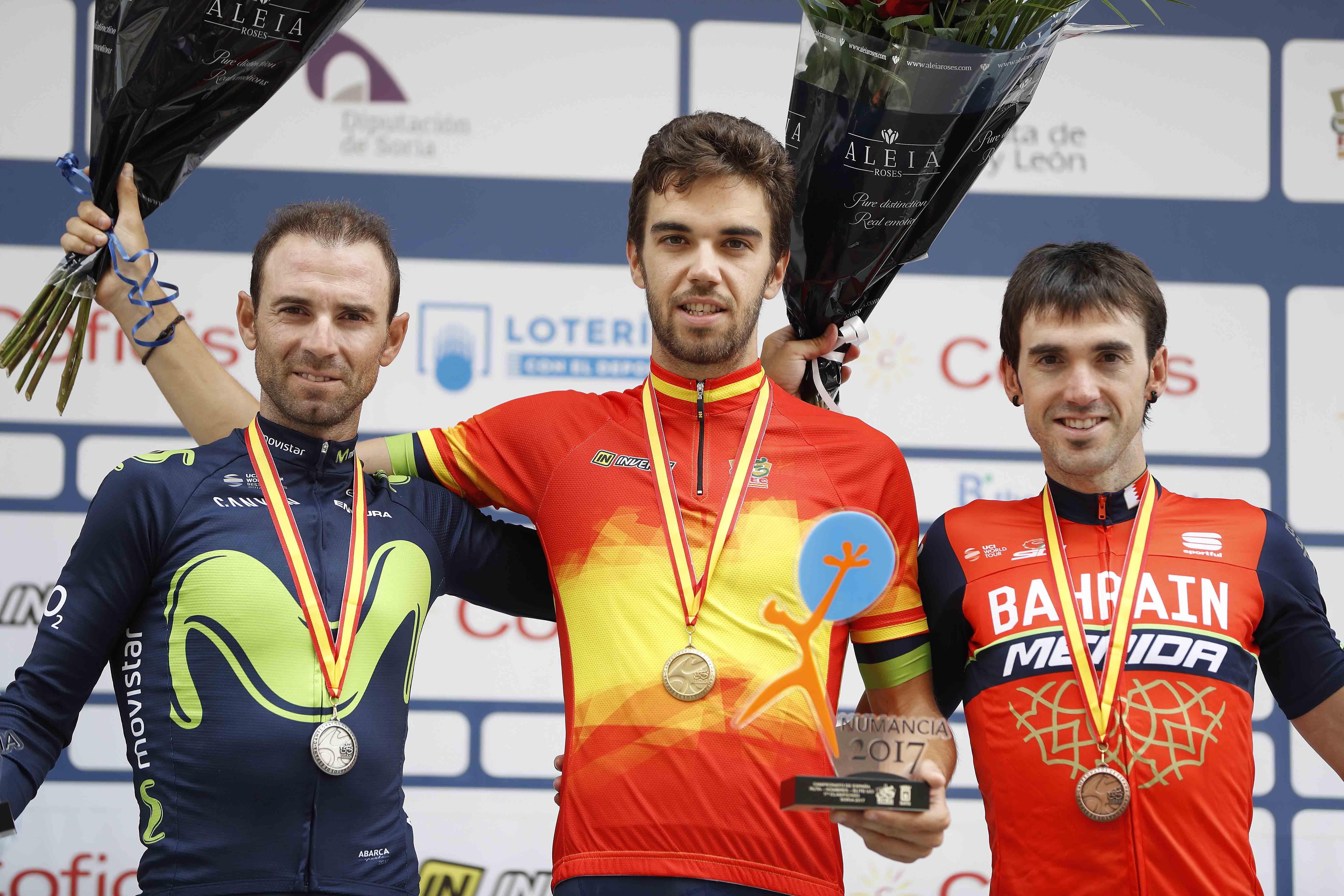 """Valverde, tras el triunfo de Herrada: """"Tan contento como si hubiera ganado yo"""""""