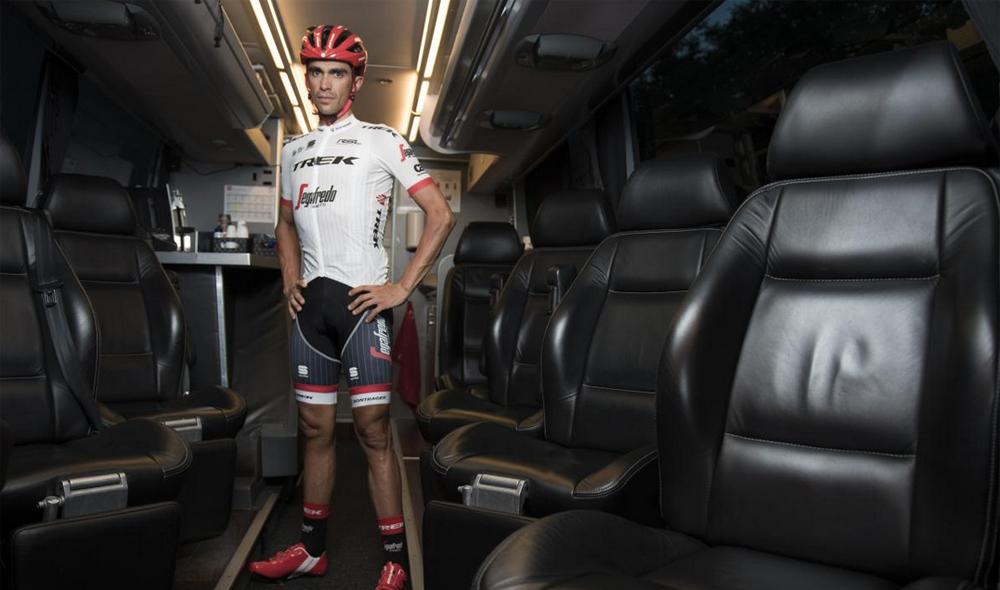 El Trek-Segafredo de Contador correrá el Tour de blanco