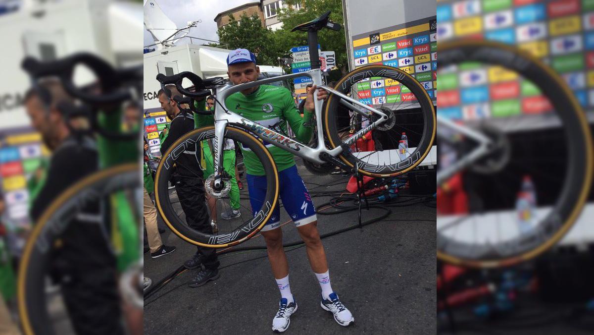 Kittel se convierte en el primer ciclista en ganar una etapa del Tour con frenos de disco