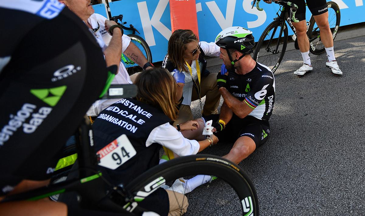 Mark Cavendish abandona el Tour de Francia