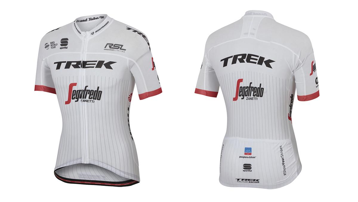 Sportful pone a la venta el nuevo maillot de Trek-Segafredo