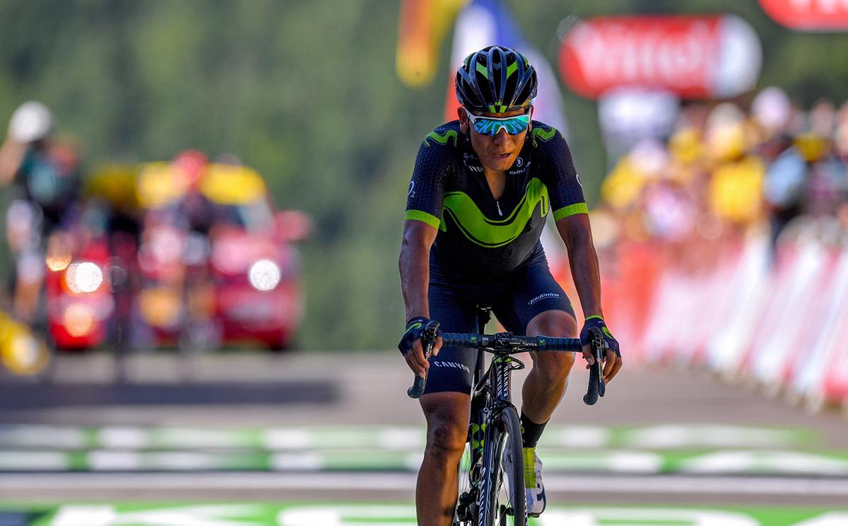 """Quintana: """"El cuerpo aún está recuperando el tono tras el Giro"""""""