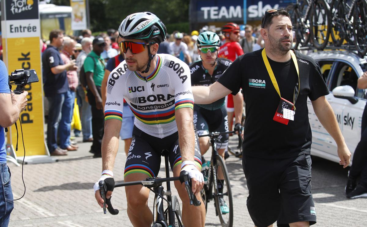 El TAS rechaza la apelación del Bora sobre la expulsión de Sagan del Tour