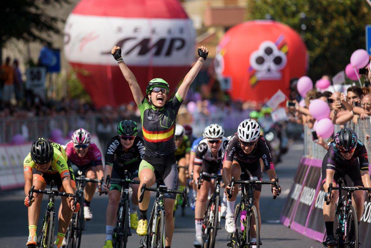 Sheyla Gutiérrez gana en el Giro Rosa