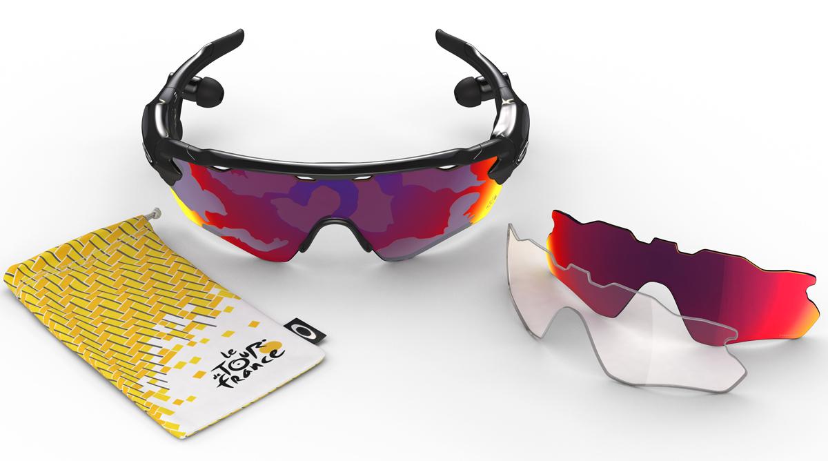 Oakley lanza una colección inspirada en el Tour de Francia