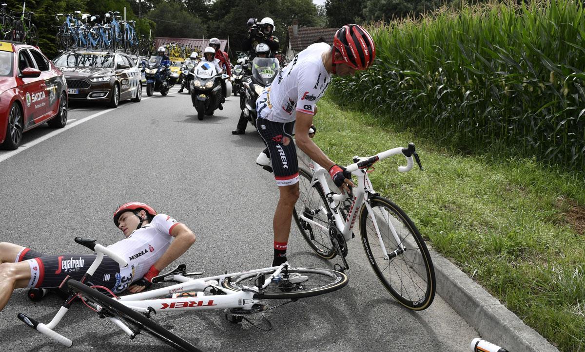 """Contador: """"El Tour me está llevando al límite psicológicamente"""""""