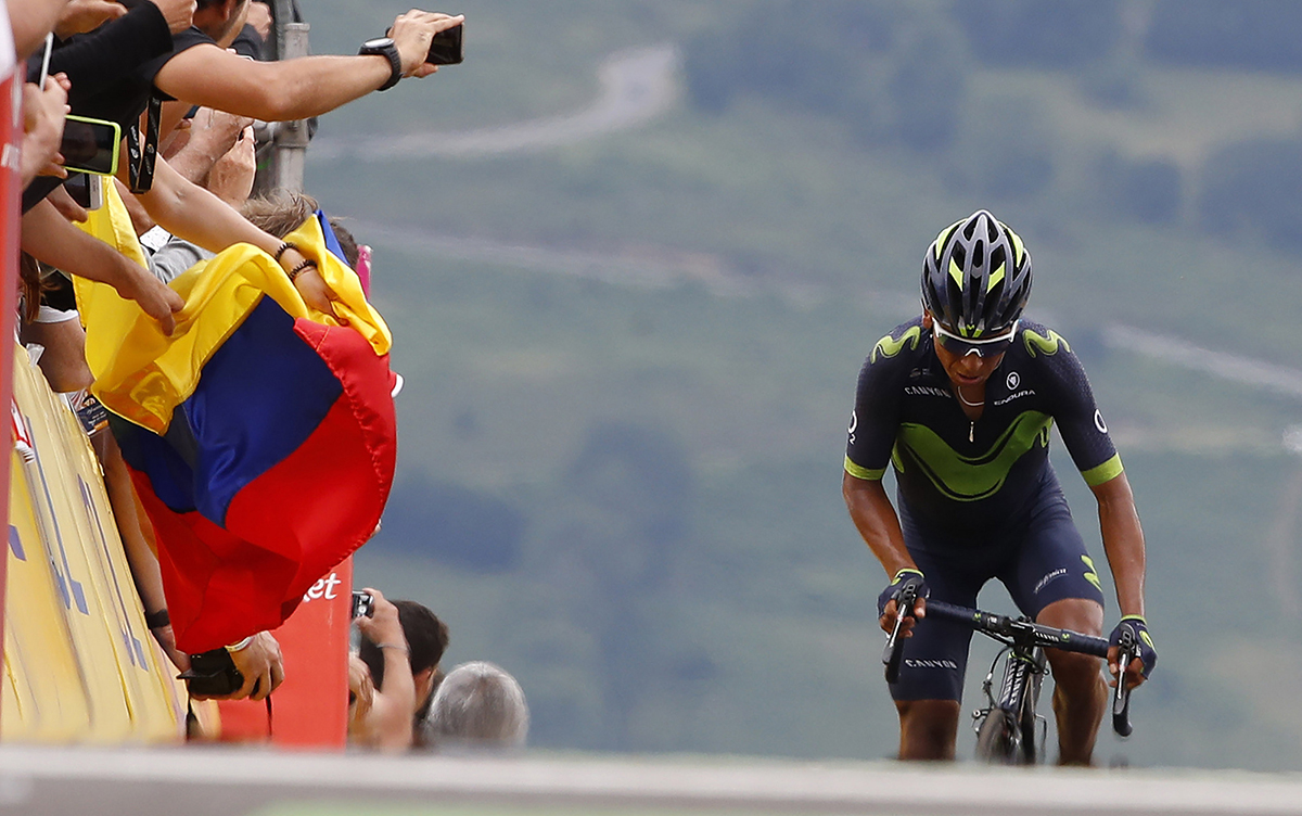 "Quintana: ""Hemos intentado el doblete Giro-Tour y no nos ha salido bien"""
