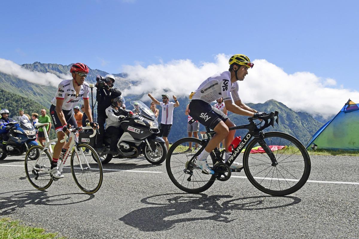Landa y Contador traen el espectáculo al Tour
