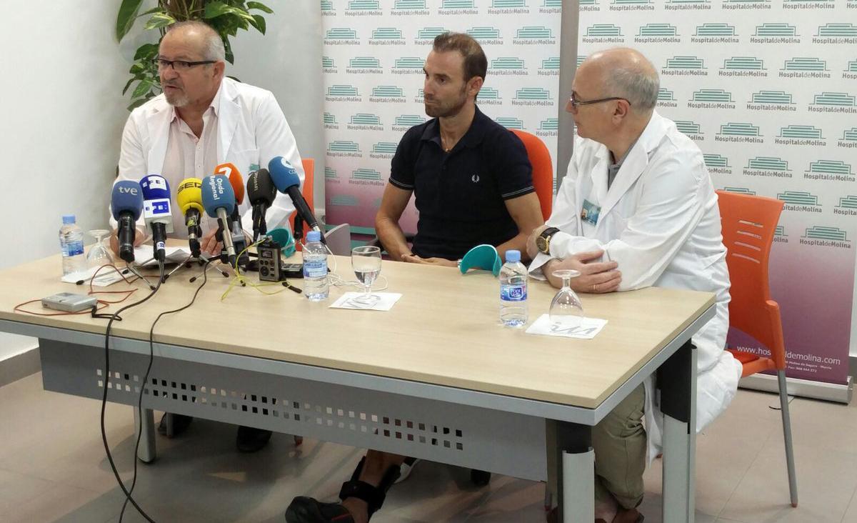"""Valverde: """"Tengo la tranquilidad de saber que puedo volver al mismo nivel"""""""