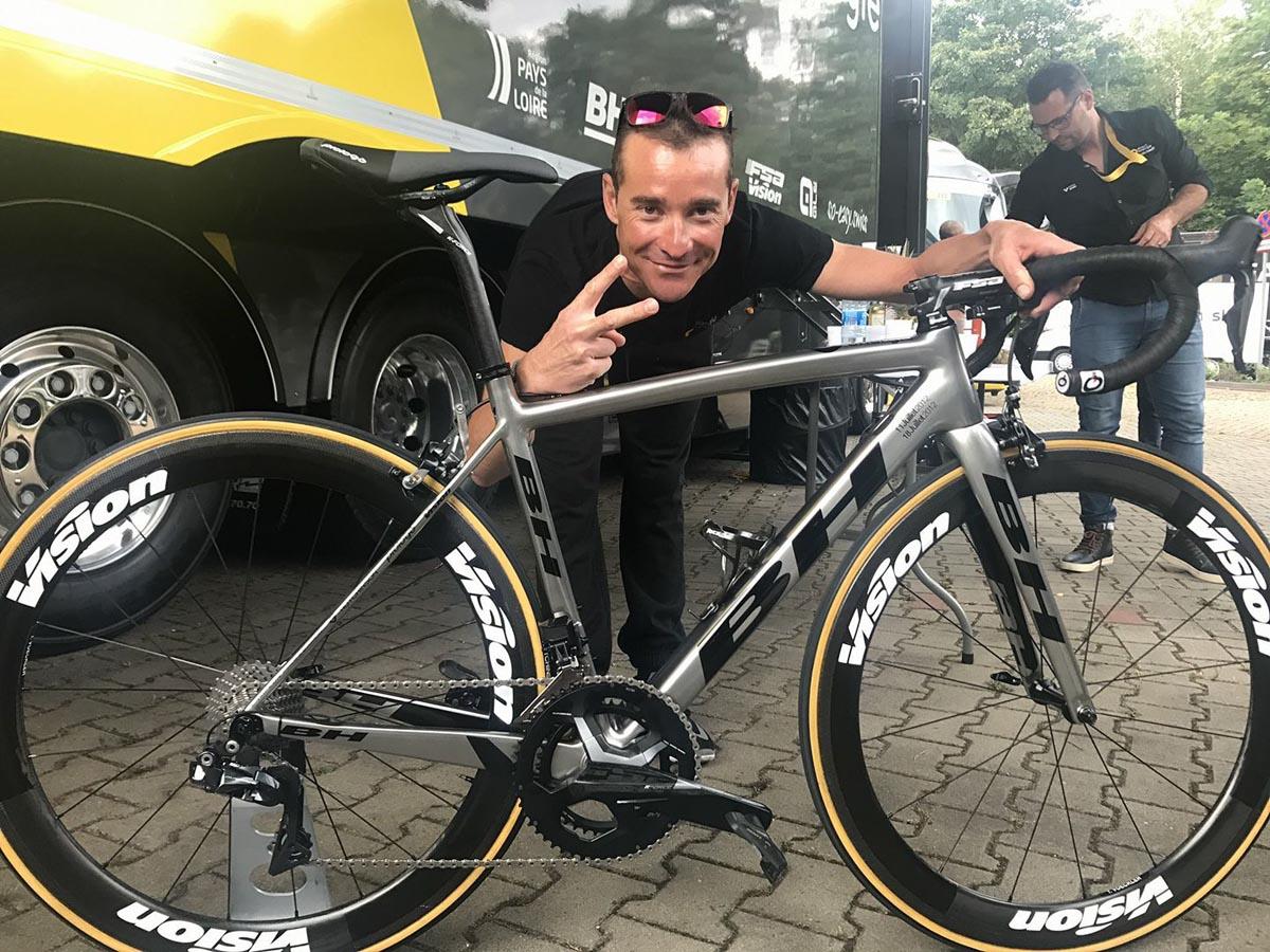 La última bici de Thomas Voeckler, BH Ultralight Platinum