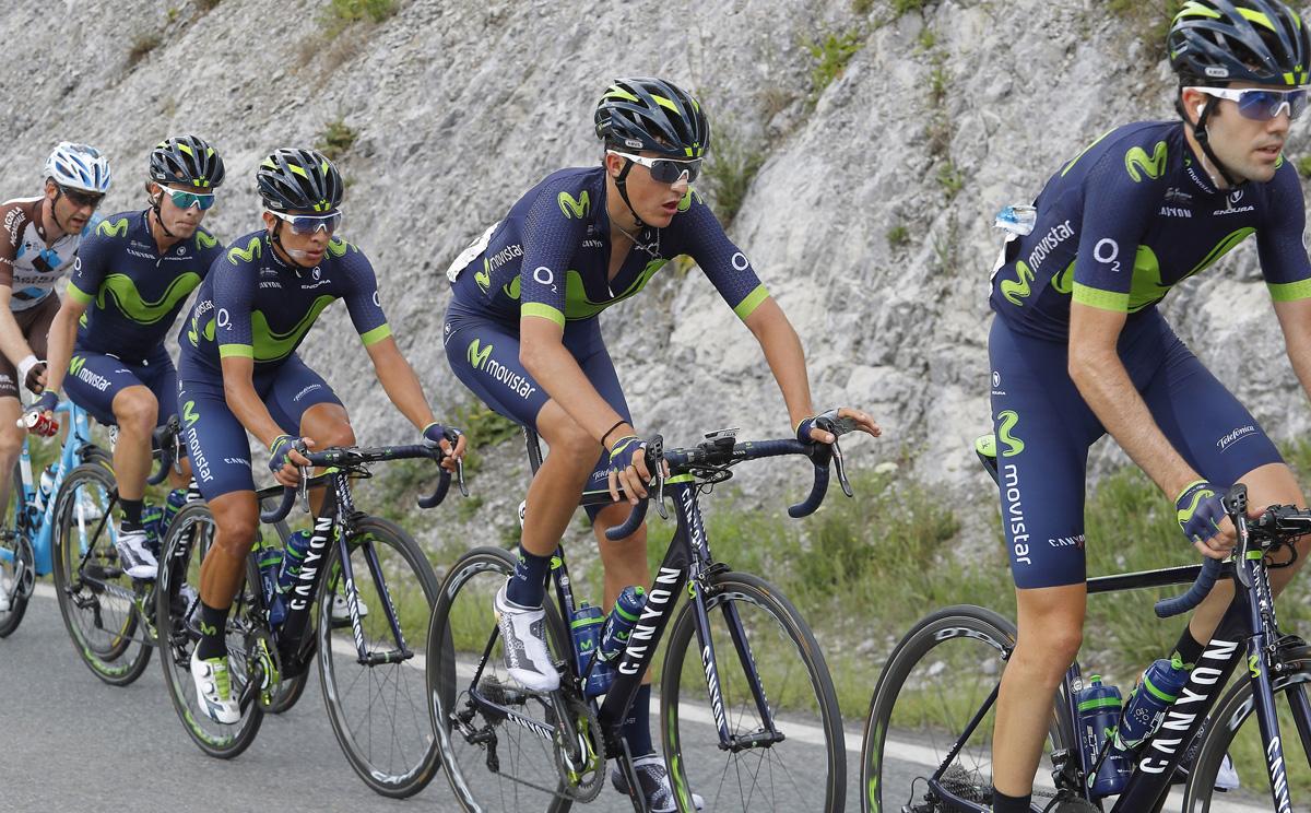 Movistar anuncia su preselección para la Vuelta