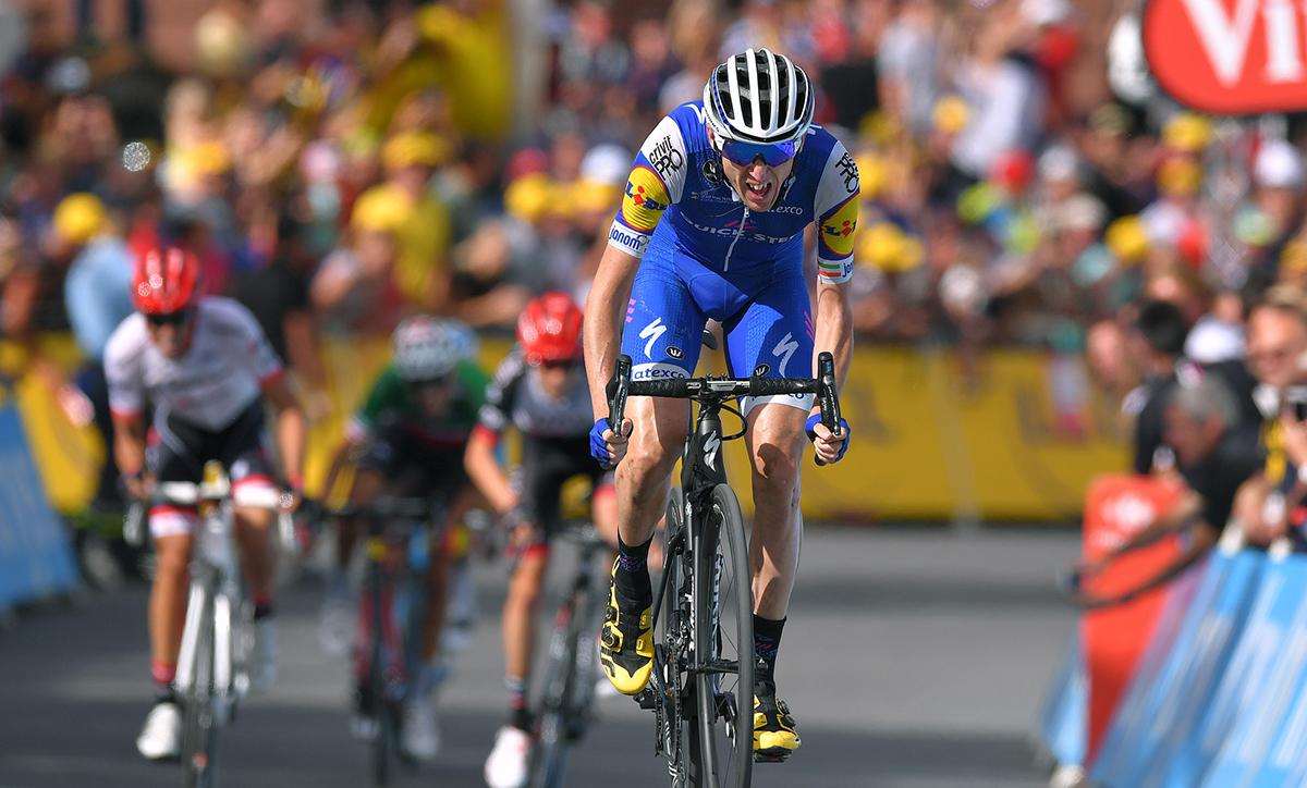 Dan Martin terminó sexto el Tour con dos vértebras fracturadas