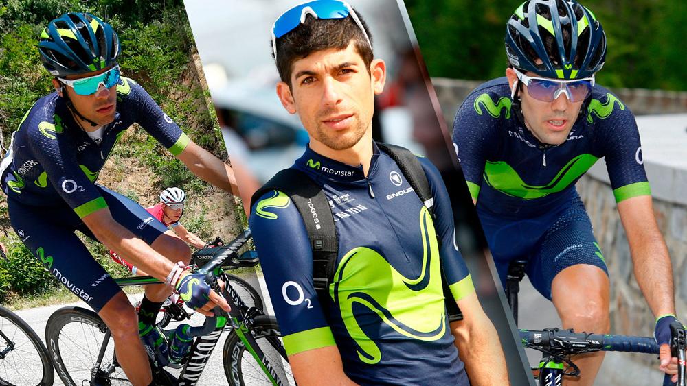 Arcas, Oliveira y Pedrero renuevan con Movistar Team
