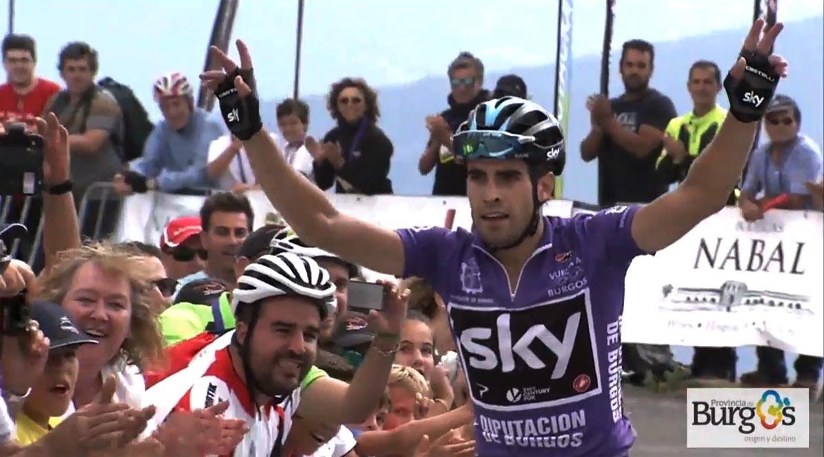 Vuelta a Burgos 2017 3ª etapa, Landa intratable