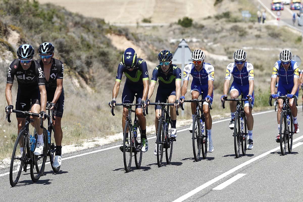 La cuarta etapa de La Vuelta a Burgos en directo