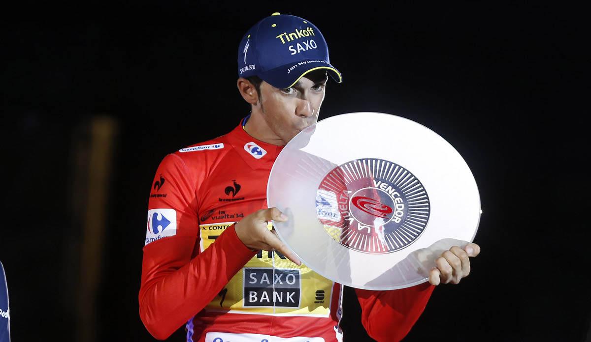 Contador, dorsal número 1 de La Vuelta
