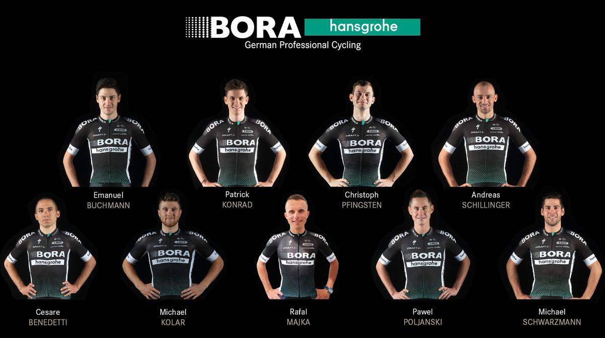 Breves: Bora anuncia su nueve para la Vuelta; Rowe se lesiona de gravedad…