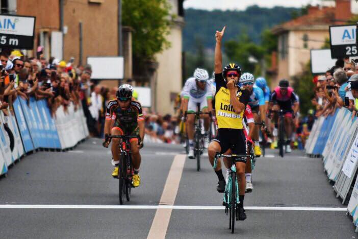Lobato se estrena con el LottoNL-Jumbo en el Tour de l'Ain